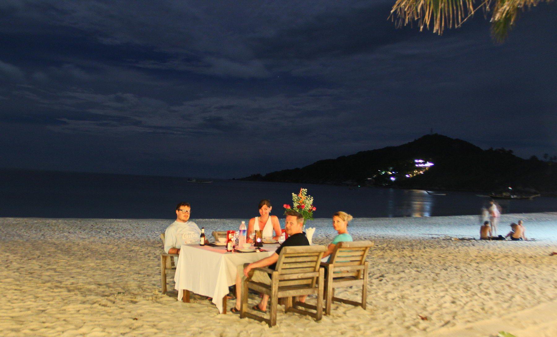 Strand-Dinner